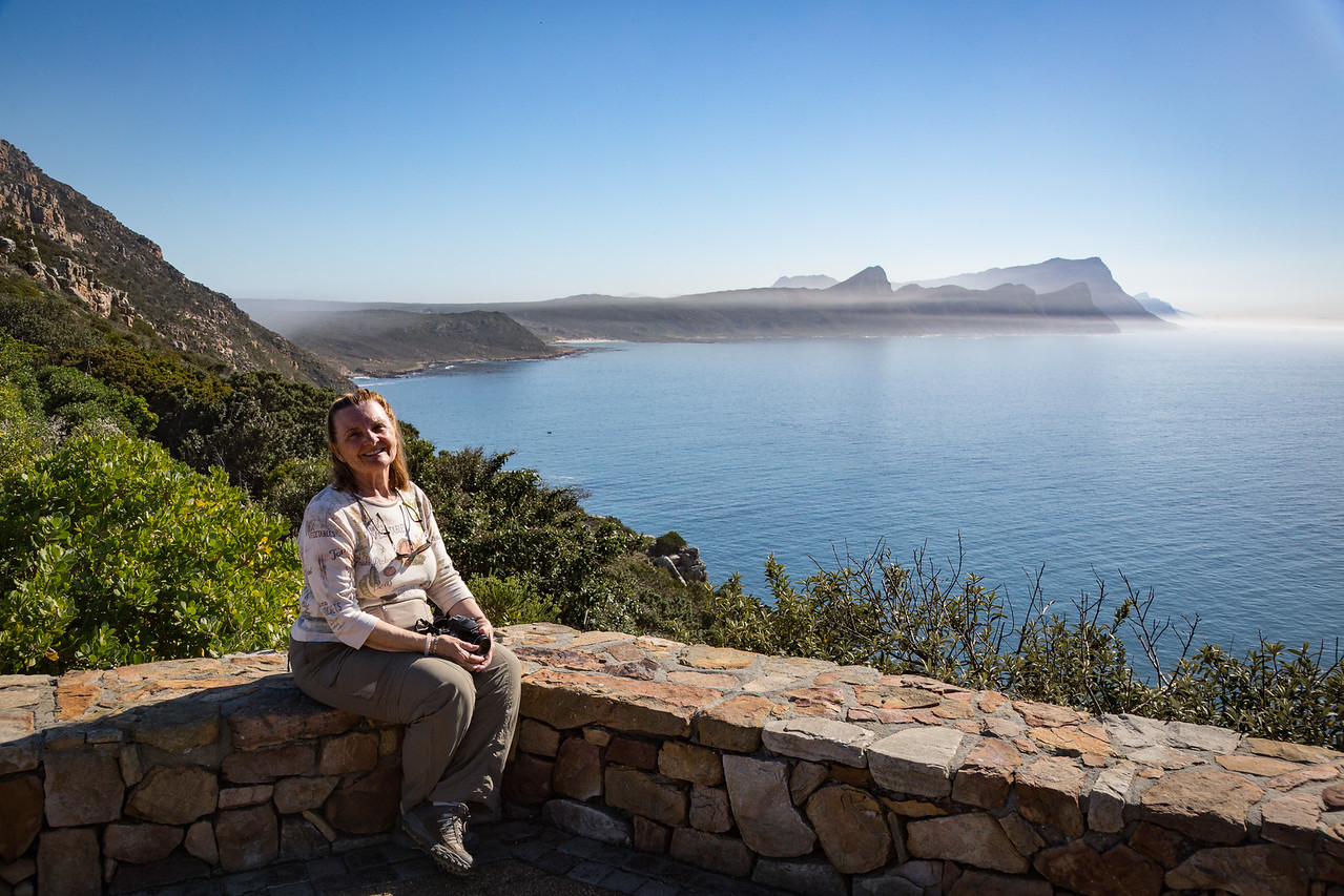Joyce at the Cape of Good Hope