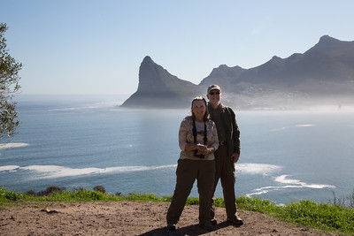 Joyce and Steve at Hout Bay