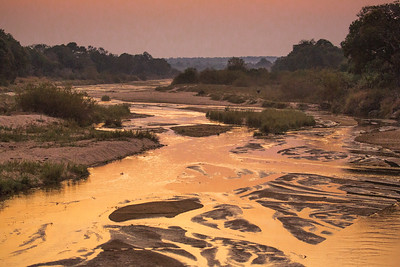 Sand River at Sunset