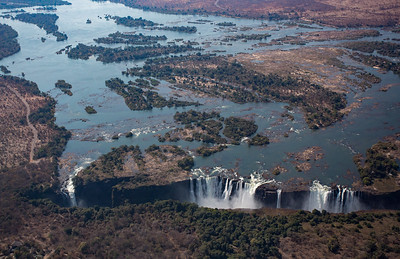 The Falls and the Zambezi River