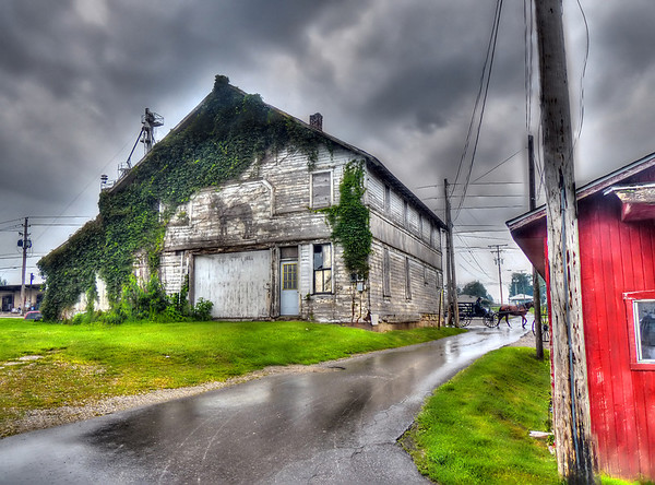 A Rainy Day in Holmes County