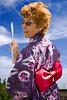 Kathy and a kimono