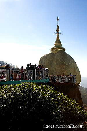Kyaik Htee Yoe - Golden Rock Pagoda