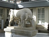 Keramikos - marble bull from plot of Dionysus of Kollytos  [Athens]