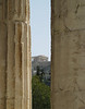 Parthenon through columns of Thession  [Athens]