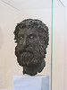 "Archeology Museum - bronze ""Head of the Philospher"" from Antikythira (3rd cent. BC)  [Athens]"