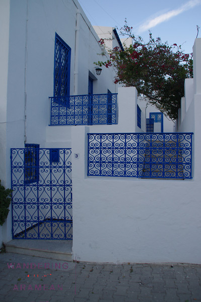 More pretty blue on white facades