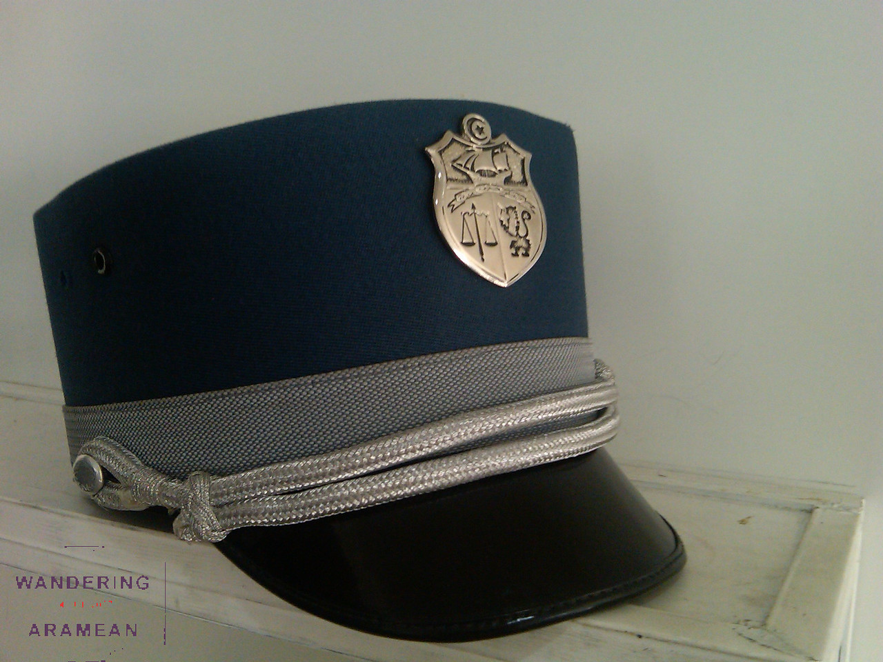 The immigration officers in Tunisia had awesome hats