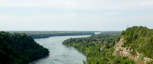 Now on our way to the falls.  We cross the Niagara River and go up the east side.