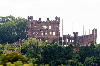 A portion of the abandoned Bannerman Castle