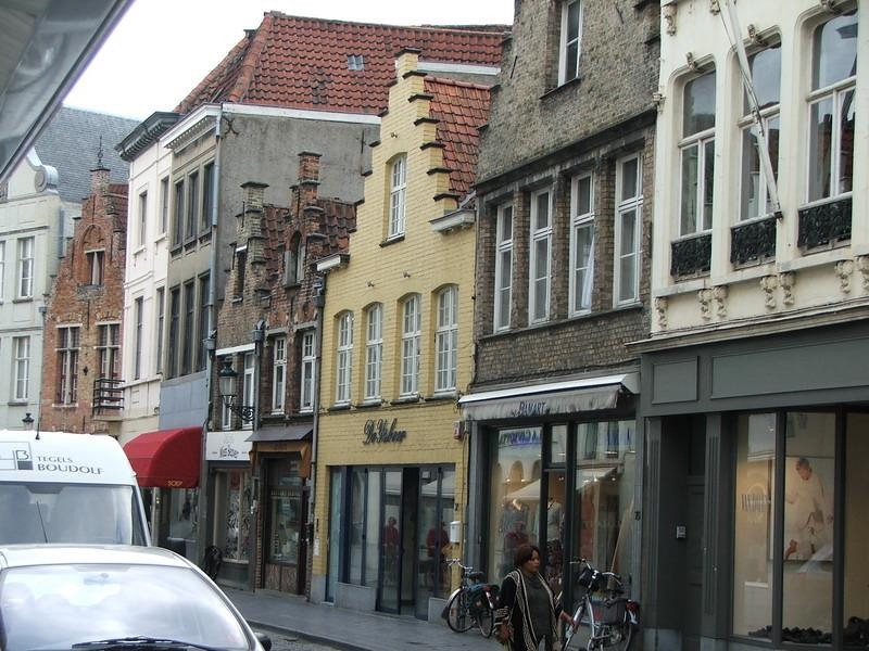 One of the most fascinating things in Bruges are the gable ends of the buildings.