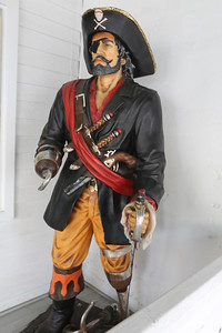 Pirates are part of the history and folklore of the Keys