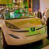 A Peugeot concept car.