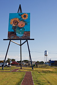 Van Gogh's easel in Goodland Kansas