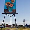 Van Gogh's easel in Goodland Kansas