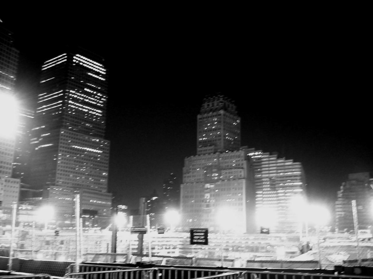 Ground Zero - NYC, July 2002