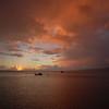 Winter sunset at Kaunakakai