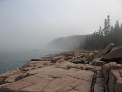 A coastline beckons