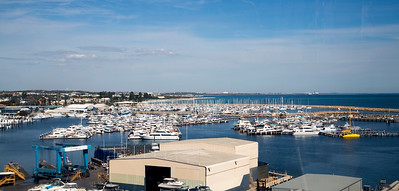A Fremantle marina.