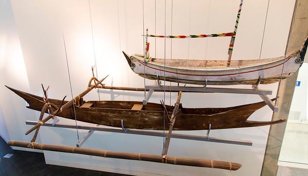 Indiginous canoes