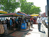 Hawker stalls at Dutch Square