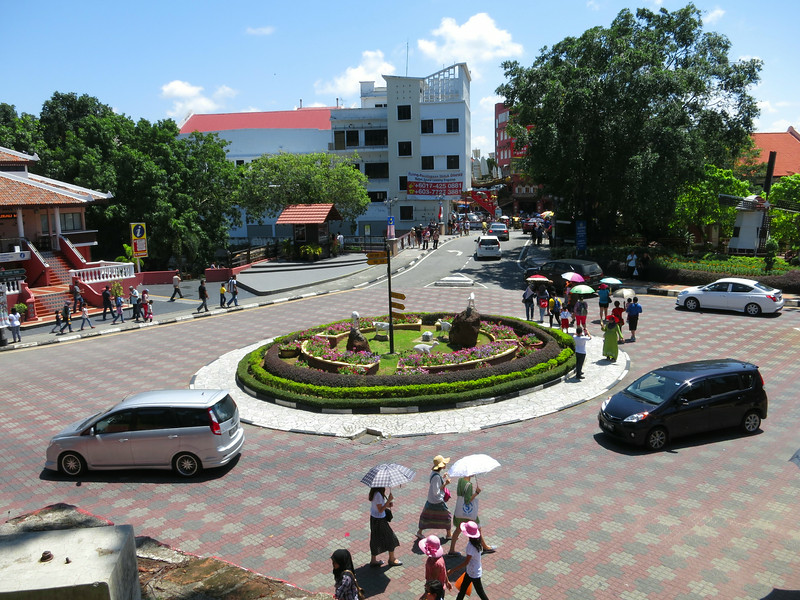 Roundabout at old town square