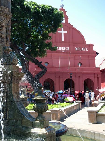 Christ Church Melaka, 1753, Dutch Square