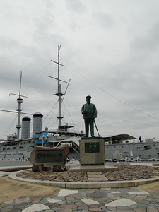 Statue of Admiral Togo