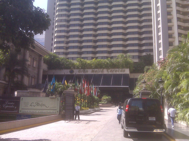 The hotel where I stayed.  I was in Caracas for 12 days to discuss business with the Italians, Venezuelans & Brazilians.