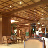 Elegant Hotel.  Built in the 60s using a lot of hard wood from the jungle.