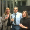 50th birthday party in the office.  Champagne and all.  Only in Italy!