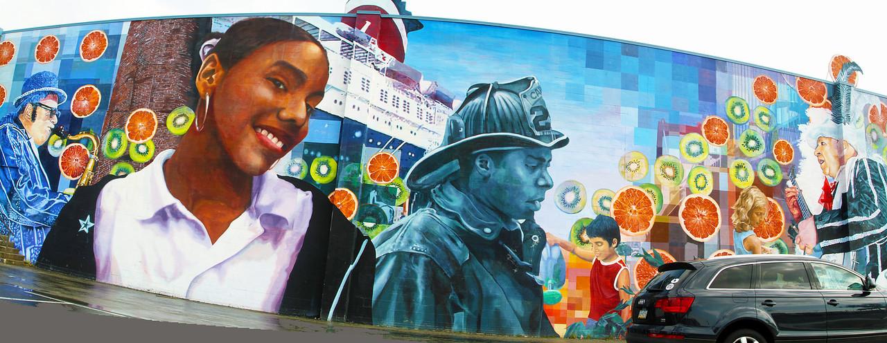 Philadelphia wall painting