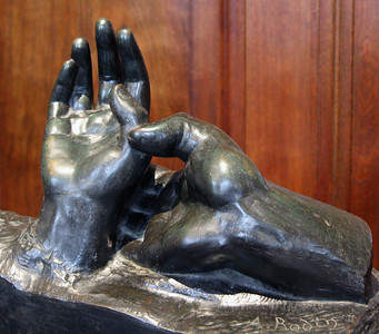Rodin's, Two Hands