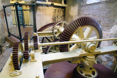 Gearing in the Fairmount Waterworks