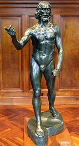 Rodin's John the Baptist Preaching