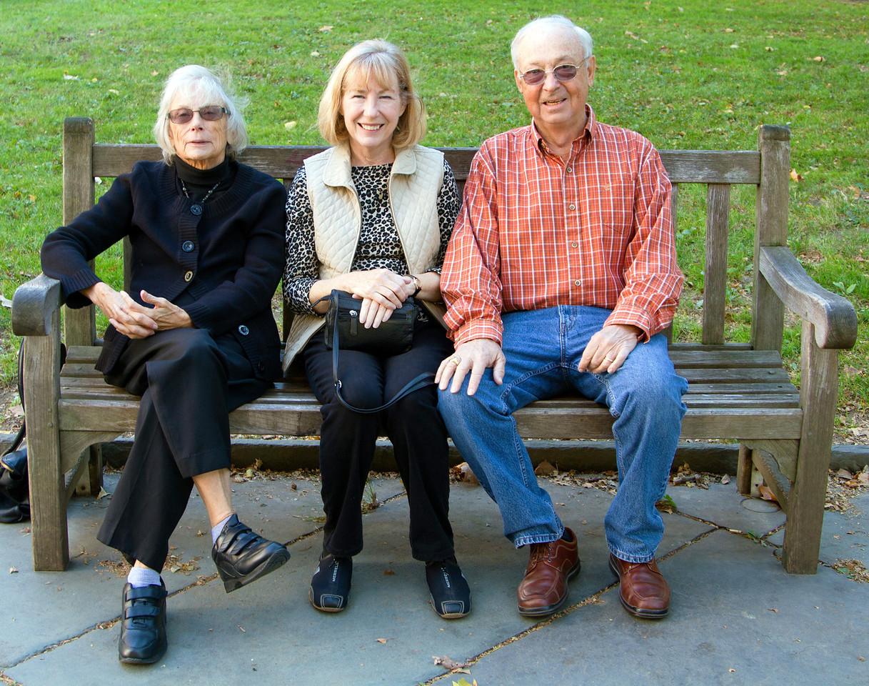 Carol, Andrea, and Ed