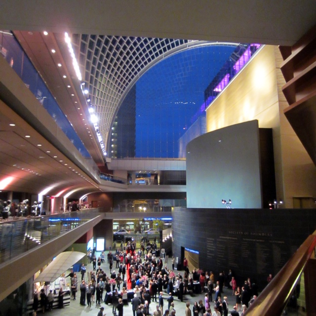 Verizon Hall reception for the Philadelphia Orchestra.  (Photo by Andrea Sutcliffe)