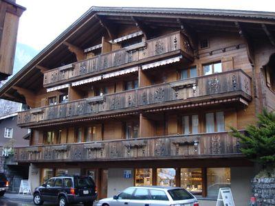 Wooden chalet in Brienz