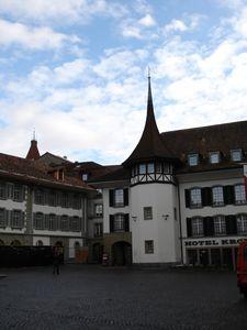 In Thun, Rathausplatz