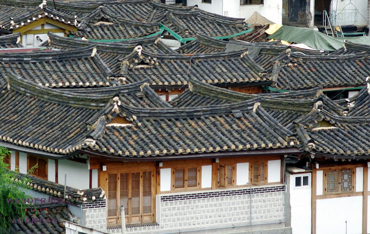 More of the Bukchon traditional hanok village
