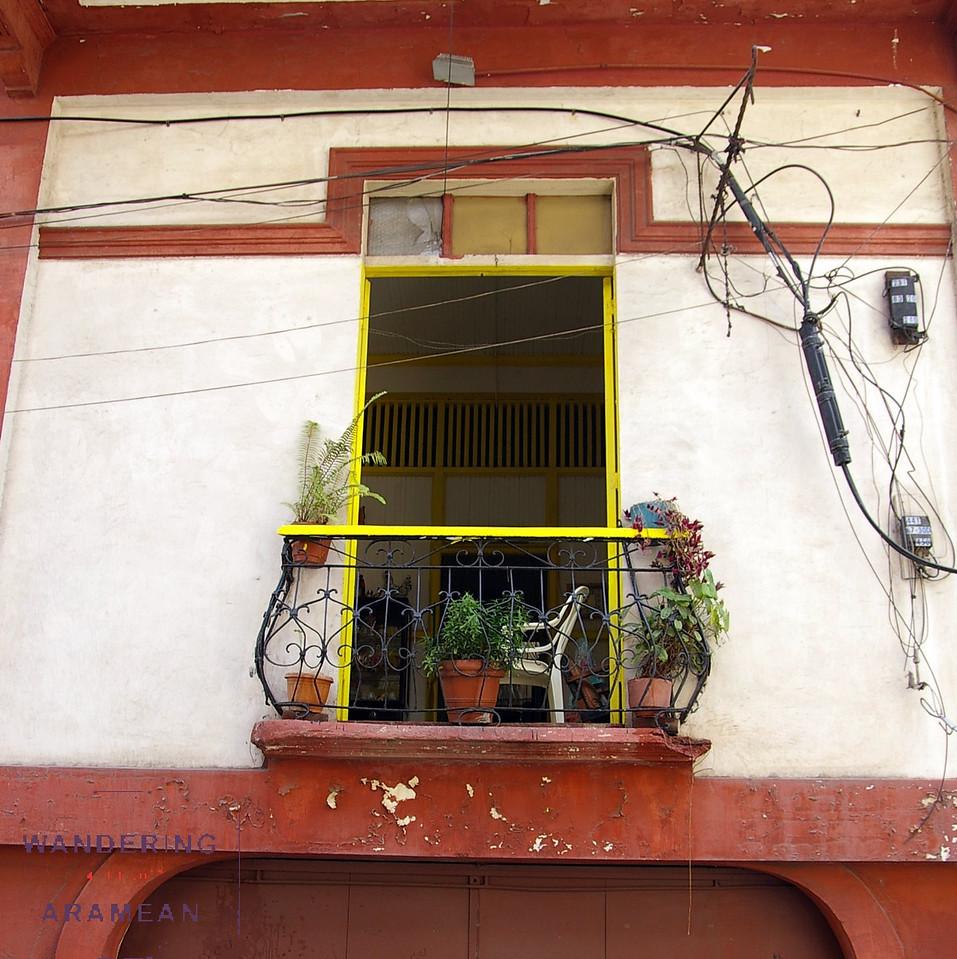 A pretty picture window in Casco Viejo
