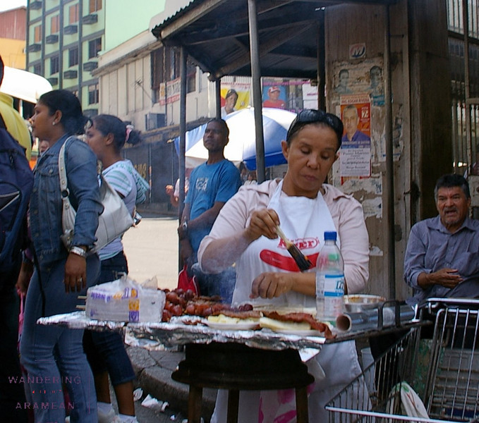 Street meat on Calle Central