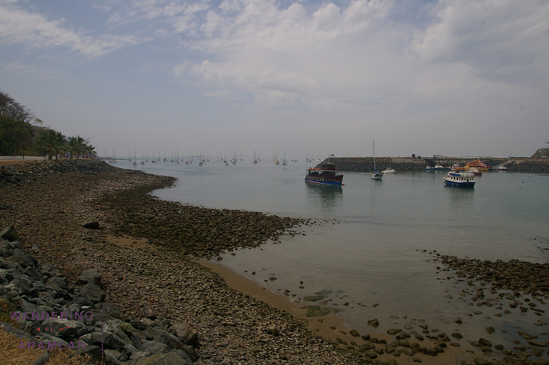 A marina on the Amador Causeway