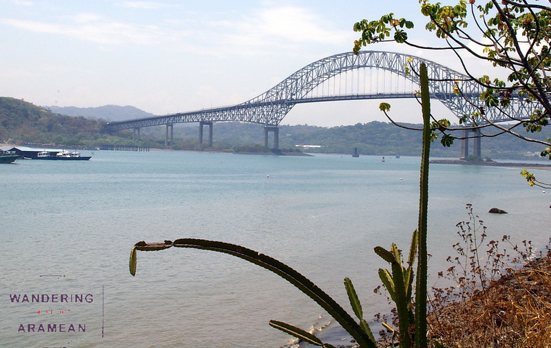 The Bridge of the Americas, crossing the Panama Canal
