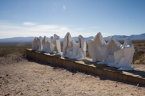 Rhyolite... ghosts & sculptures