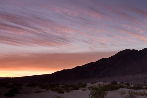 Sand Dunes sunrise