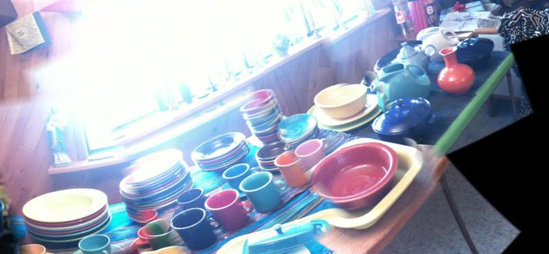 Fiesta-ware for Kath! Happy Birthday!