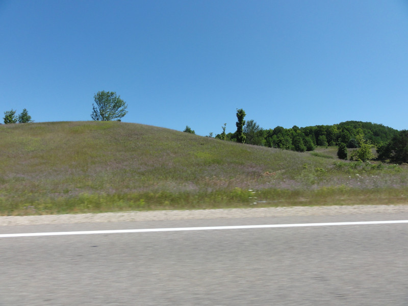 country side, glacial deposits, between Central Lake and Mancelona, Michigan