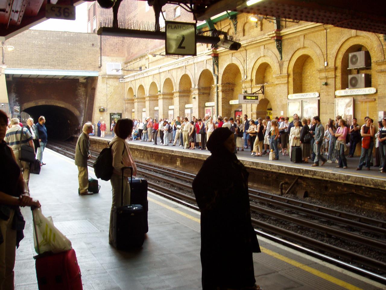 P6141345 Journey Starts at Paddington Station Underground