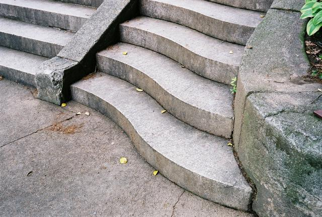 The Spanish Steps in Georgetown, DC, May, 2005.